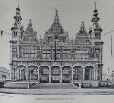 Expo Milan 1906, Padiglione del Belgio