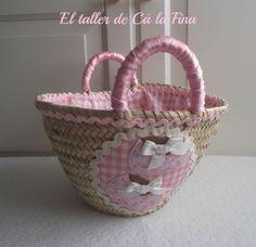 "Minicapazo ""Adriana"" #bebes #canastillas #capazosdecorados #capazospersonalizados #capazos"