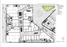 Kulturbau and mall,Plan