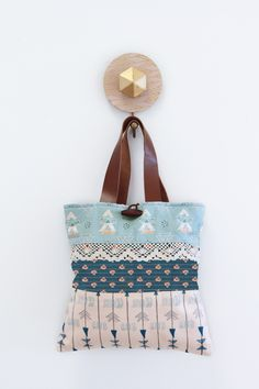 Fleet and Flourish fabric collection bag