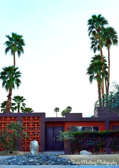Twin Palms Apartments; Palm Springs, CA. Photo by Tayva Martinez