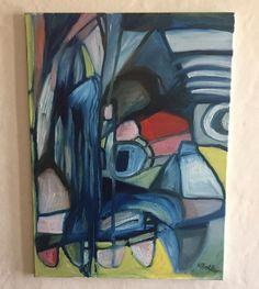 Original Painting By American Artist Melissa Bollen Carnival Abstract Modern Art    eBay