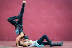 bboy kiss! I had so much fun photographing this cute couple they both amazing break dancers, feel the love! couples photography     Photo from Couples, Engagements, Weddings, and Love. collection by Pearly Kate Photography, L.L.C.