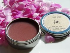 #diy rose petal salve tutorial. Rosehip oil, refined beeswax, vitamin E