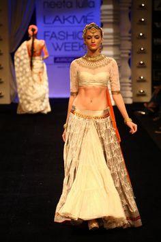 Neeta Lulla collection at Lakme Fashion Week Winter/Festive 2012