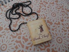 The Book Thief necklace by CharmaLlama