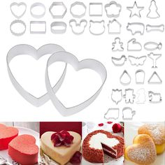 DIY Fondant Ausstechformen Kuchen Küche Werkzeuge Animation Kuchen Keks Backformen