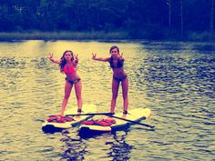 we rocked the SUP @Andrea
