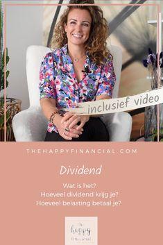 Dividend: weet jij wat het is? Hoe de hoogte van deze winstuitkering wordt bepaald? Op welke manieren dividend uitbetaald kan worden? En hoe zit het met de dividendbelasting die hierover betaald moet worden? In deze video vertel ik er meer over. #dividend #aandelen #beleggen #aandelenmarkt #beurs #bedrijven #investeren Make Money From Home, How To Make Money, Financial Quotes, My Wish For You, Finance Tips, Personal Finance, Saving Money, Investing, Women