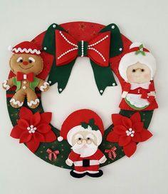 Guirlanda de Natal - Feltro