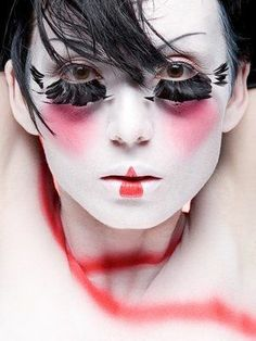 Samantha Lennon Blog of Makeup & Beauty: Geisha Makeup (Halloween ...