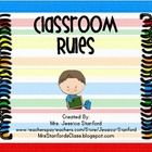 These 5 basic school rule posters will brighten up your room and have the students start everyday with success!Similar Products:Clothespin Behav...