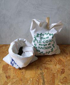 sac de course en tissu motif free