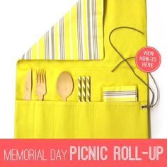 Add a bright DIY touch to your next picnic! http://on.fb.me/JDKkaq