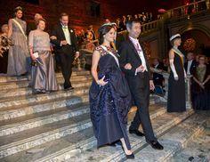 La princesa Sofía junto al premio Nobel de física, Takaaki Kajita