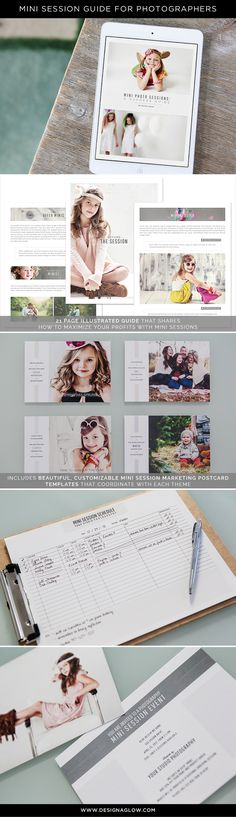 Ideal for building buzz, bringing in new clients, and generating business during slow times aka winter. Photography Mini Sessions, Photography Pricing, Photography Marketing, Photography 101, Photography Branding, Photography Projects, Photography Business, Photography Tutorials, Tips Instagram