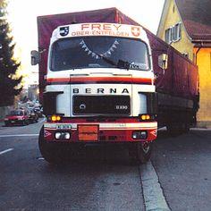 Berna D330 of Switzerland Semi Trucks, Old Trucks, Fiat, Cars And Motorcycles, Switzerland, Old School, Vehicles, Track, History