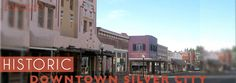 Silver City, New Mexico - how many times did I drive my car up and down that street? Our favorite sport - dragging main. Main Street, Street View, Downtown Events, Car Up, Silver City, Footprints, New Mexico, Wilderness, Maine