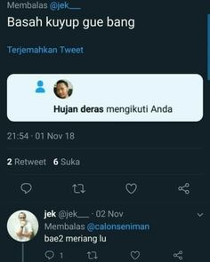 Quotes Lucu, Jokes Quotes, Funny Quotes, Funny Tweets Twitter, Manado, Cartoon Jokes, Perfection Quotes, Tumblr Quotes, Good Jokes