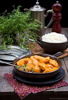 Kurczak po indyjsku - Gotuję, bo lubię
