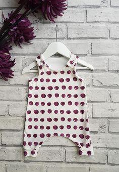 Polka Dot Harem Romper Romper for Baby Romper for Toddlers