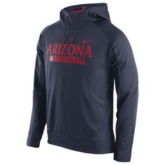 Arizona Wildcats Nike Elite Basketball Performance Hoodie - Navy