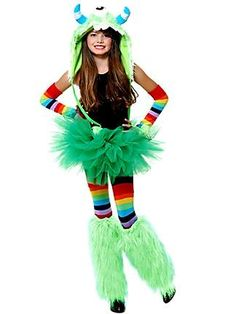 tutu monster costumes halloween costumes girls costumes monsters girls - Halloween Costume Monster