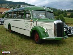 Vintage and Classic Commercial Vehicles in Europe Mercedes Benz Maybach, Bus Coach, Weird Cars, Historical Images, Busses, Commercial Vehicle, Coaches, Old Cars, Motor Car