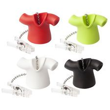 Qualy Cute Tea Shirt T-shirt Shaped Infuser Loose Leaf Brewer Strainer 4 Colours