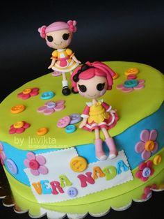 Lalaloopsy birthday cake By Invikta