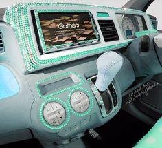 Full Color Car Vinyl Graphics Decal Flower K Graphics - Custom car bling decals