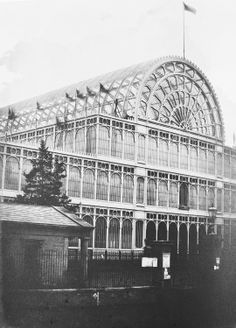 The Royal Collection: Crystal Palace during The Great Exhibition, View of the South Transept Crystal Palace, Hyde Park, Forest Hill London, London History, Tudor History, British History, Old London, South London, Palace London