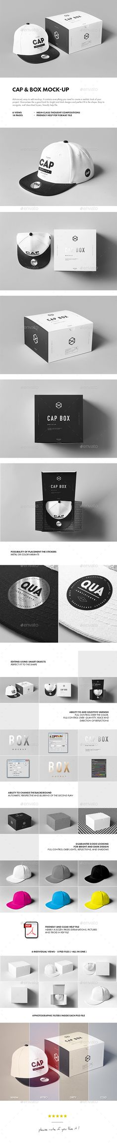 Cap & Box Mock-up https://graphicriver.net/item/cap-box-mockup/18861574?s_rank=19&ref=7h10