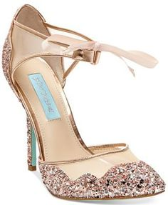 If I end up doing rose gold accessories/jewelry with my gown, these shoes would be great.