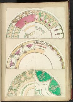 Alfred Henry Forrester [Alfred Crowquill]   Nine Designs for Decorated Plates   The Metropolitan Museum of Art