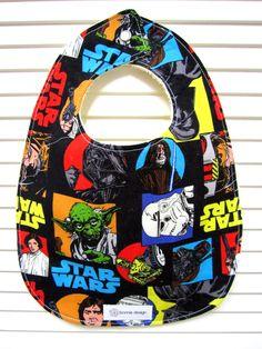 Star Wars : Plastic Lined Bib.