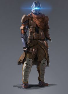 Bintan mercenary with Ibumic-Bintan styled armor.