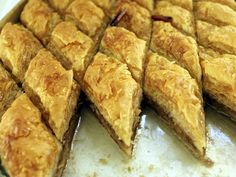 An ancient treat, baklava was first cooked up in its current form by Ottoman cooks in present-day Turkey. Sticky and sweet, it is the iconic Middle Eastern pastry.