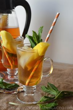Mango & Mint Infused Tea