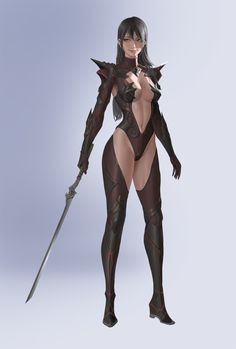 ArtStation - devil suit, Hyunjoon Kim