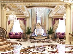 Home Interior Decor Idea Bedroom Lavish Luxurious Beautiful Pretty Nice Cozy House