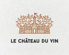 Wine Château designed by Stefan Kitanović. Wine Chateau, Popular Logos, My Design, Logo Design, Saint Charles, Kid Styles, Show And Tell, Logo Branding, Vintage