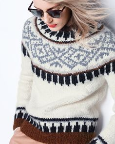 italian fair isle fashion - Google Search