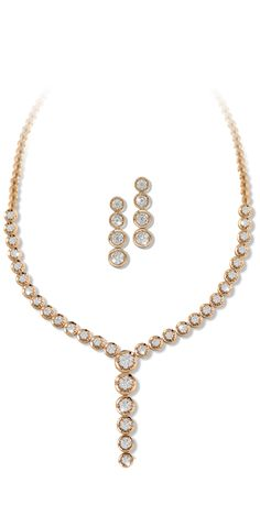 #liali #jewellery #tennis #love #necklace #earrings #diamond #rosegold #dubai #festive #fashion