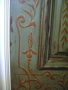 Detail, Powder Bath Door by Jeff Huckaby