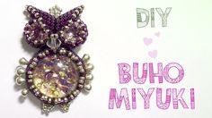 DIY BUHO MIYUKI 1/4 (Los ojos) ♥ Qué cositas