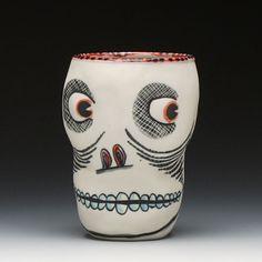 Michael Corney : Skull Cup - Firecrackers