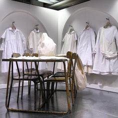 "DOVER STREET MARKET, London,UK, ""Installation by  EGG"", pinned by Ton van der Veer"