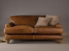 Perfect Overstuffed Leather Sofa Nicesofa