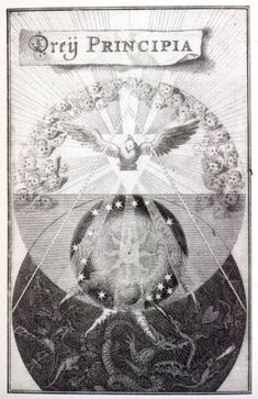 Jacob Böhme, Three Principles. From the Esoteric Image Library at MSU.